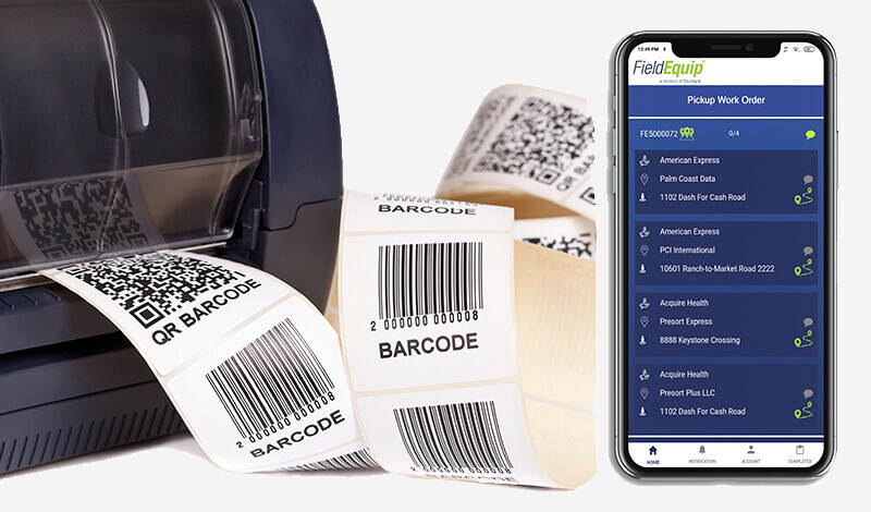 Barcodes using Packaging Machine