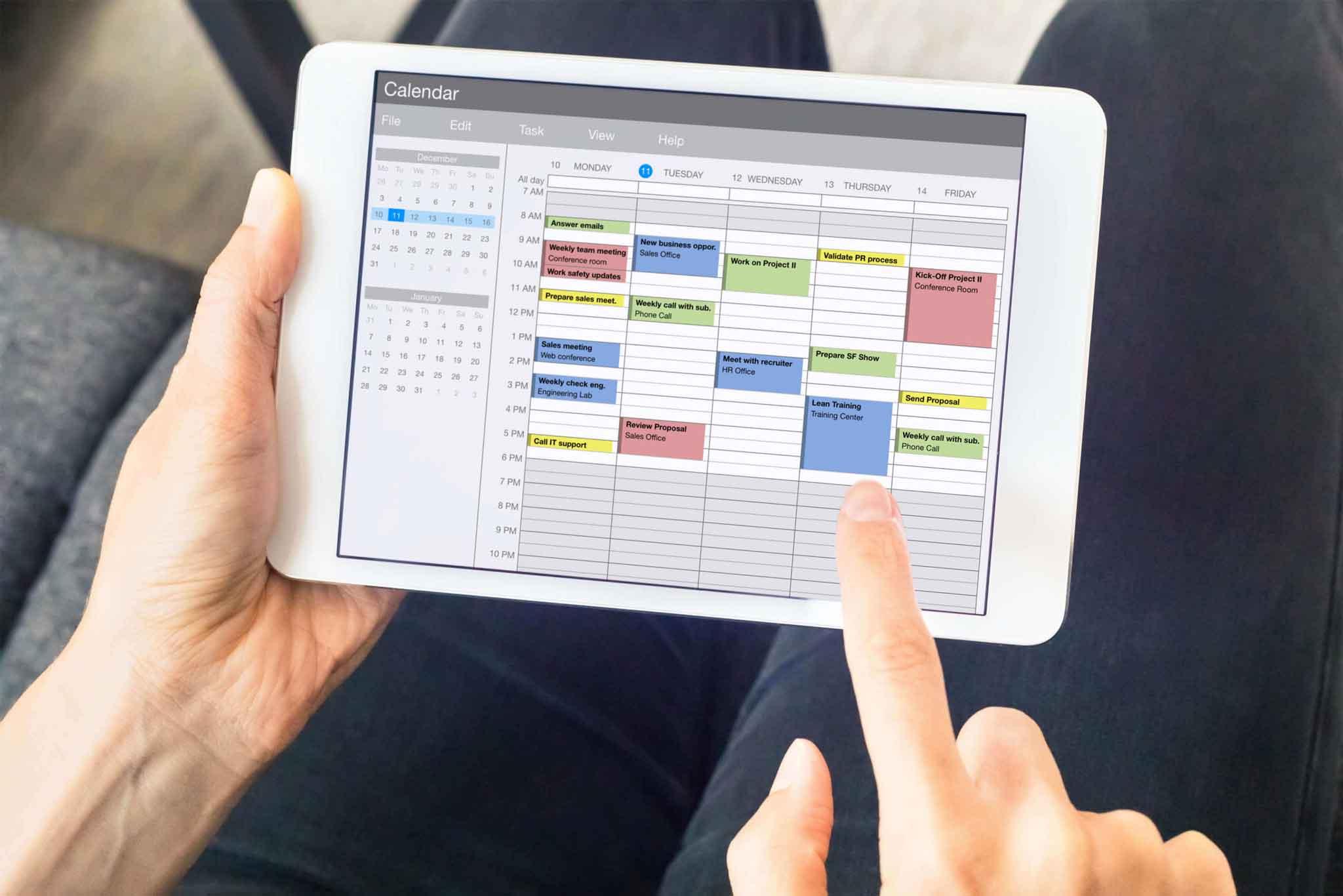 Schedule Field Workforce in Calendar