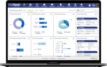 Real Time Operations Dashboard for Customer Engagement