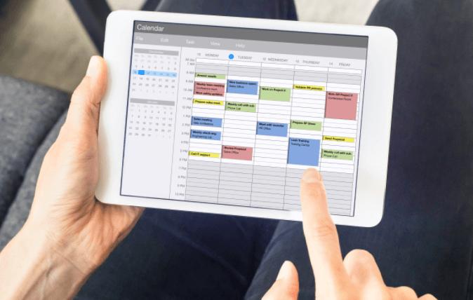Mobile field service schedule