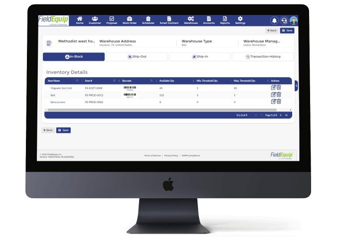 Field Inventory Management Software